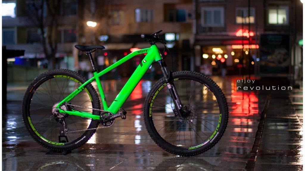 Bicicleta electrica Eljoy Revolution 5.0